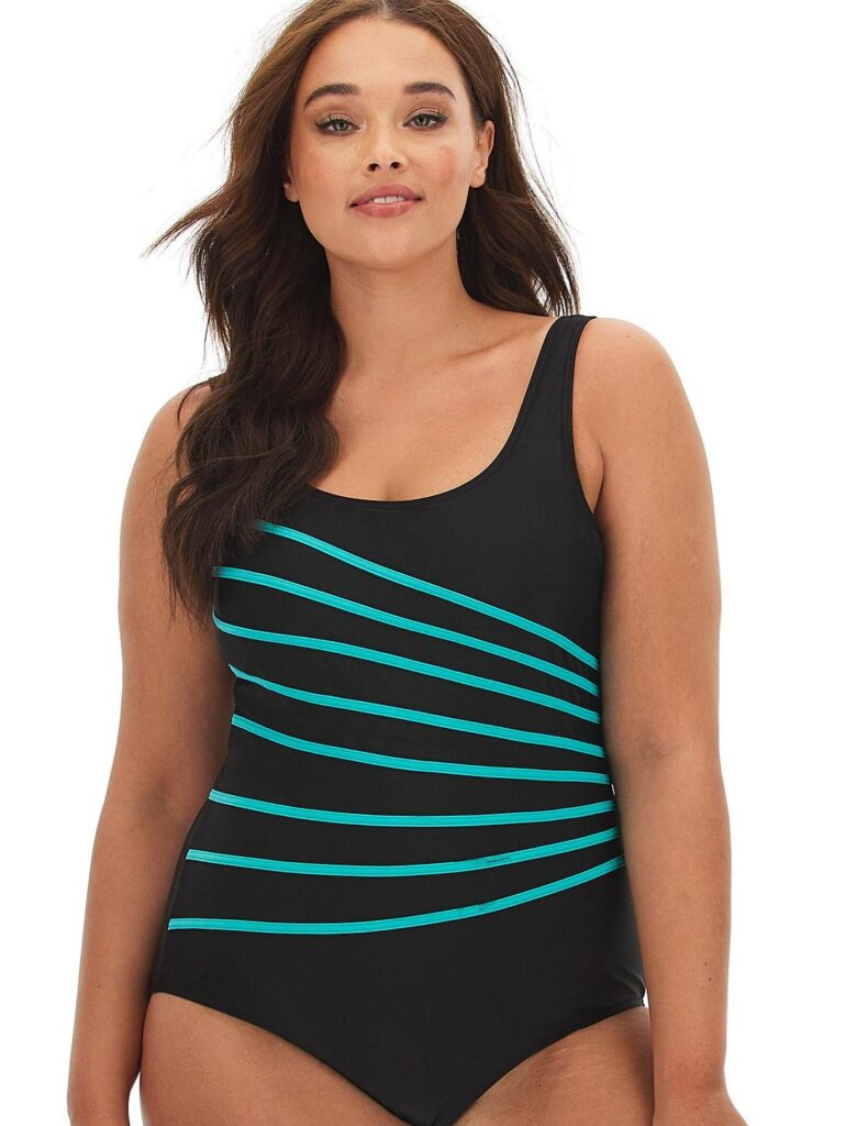 Patricia Bech Star Pick: I love this swimming costume from SimplyBe.co.uk for curvier ladies and it is only £8.75 in the sale