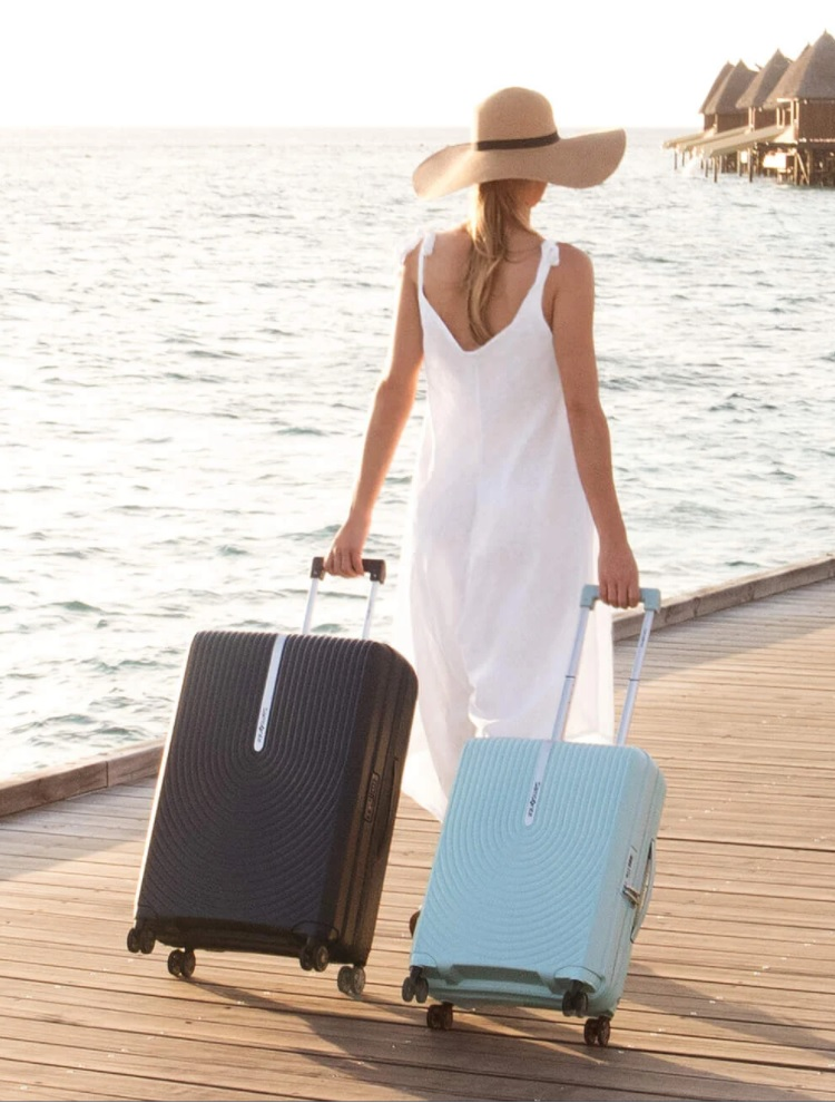 Patricia Bech Travel Notes Samsonite Feature